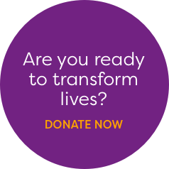 Are you ready to transform lives? Donate now